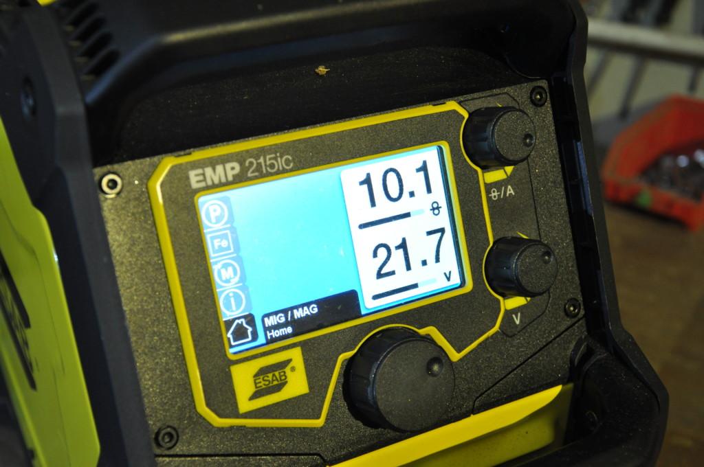 ESAB Rebel EMP 215ic Schweißgerät Vorstellung - Handwerkerblog