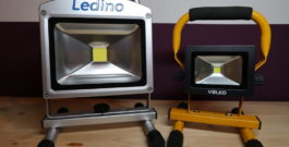 LED Akku Strahler Test – Zwei Profi-Modelle