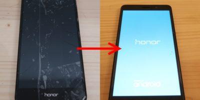 Smartphone Display selber reparieren