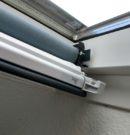 Verdunkelungsrollo Dachfenster Einbau selbst gemacht