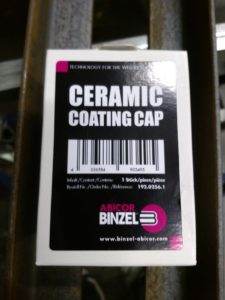 Binzel Ceramic Coating Cap