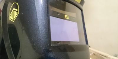ESAB Warrior Tech Schweißhelm Frontansicht