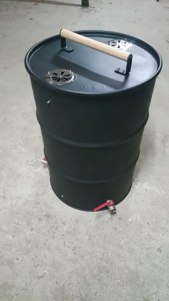 Ugly Drum Smoker fertig
