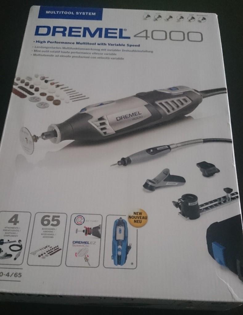 Super Dremel 4000 Test Multifunktionswerkzeug - Handwerkerblog WJ26