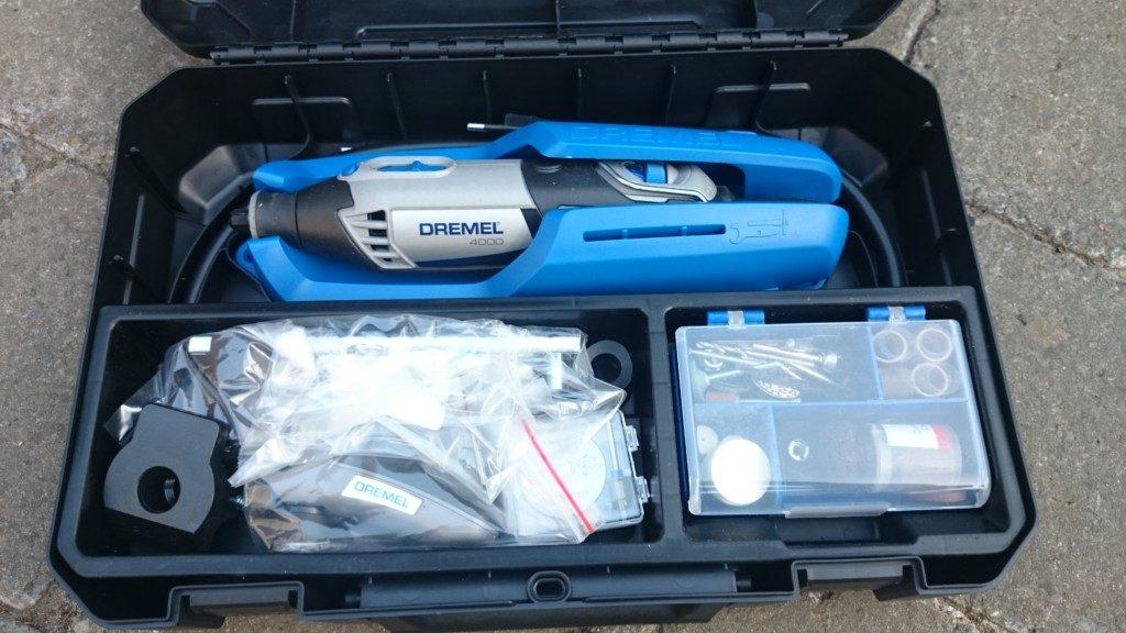 Sehr Dremel 4000 Test Multifunktionswerkzeug - Handwerkerblog OV98