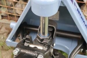 Gabelhubwagen Hubwagen Test Hydraulikzylinder