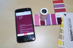 Datacolor ColorReader Farbe bestimmen Farbfächer
