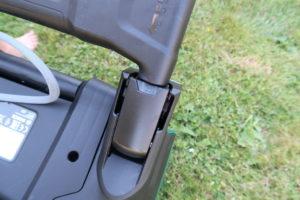 Bosch AdvancedRotak 750 Einrastung für Schiebegriff
