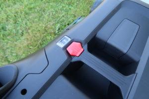 Bosch AdvancedRotak 750 Schnitthöhenverstellung