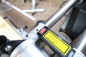 Laser der Güde Radialkappsäge GRK 254 BS