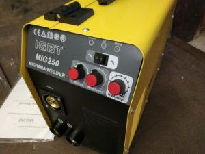 DB Weissenstein MIG MAG 250 Schweißgerät